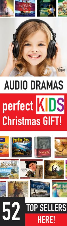 My kids LOVE getting audio dramas as Christmas gifts!! Such a great gift because we listen to them over and over (and they learn so much!). This is the best list I've seen of audio dramas...