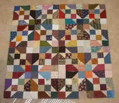 Oklahoma Backroads pattern from Quiltville - excellent quilting blog with lots of patterns and ideas