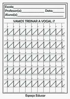 28 Atividades com vogais prontinhas para você imprimir! - ESPAÇO EDUCAR