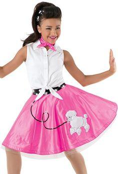 Vintage Fashion Poodle Skirt For Girls Secretofdiva