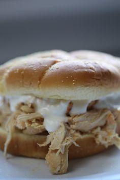 Crock Pot Buffalo Chicken Sandwich Recipe