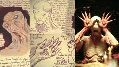 Guillermo del Toro's Notebook (The Pale Man Pan's Labyrinth) - My favorite Director!!!!  (Besides Baz Luhrmann)