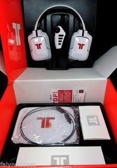 Tritton Pro 5 1 Surround White Headset Tri 90303N001 Mad Catz 728658033675 | eBay