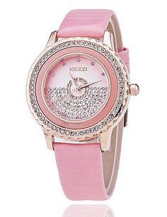 SKLIT Frauenuhren PU-Freizeitband Damenuhr Koreanische Art und Weisespitze diamond Mode Uhr - http://uhr.haus/sklit-watches/sklit-frauenuhren-pu-freizeitband-damenuhr-art