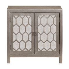 Shop Joss & Main for your Nicole Mirrored Chest. Featuring shimmering mirrored door fronts with bold geometric overlays, this eye-catching cabinet effortlessly blends rustic style with glam appeal.