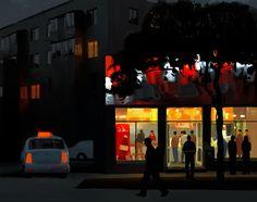 pizzeria, Andrey Surnov on ArtStation at https://www.artstation.com/artwork/pizzeria