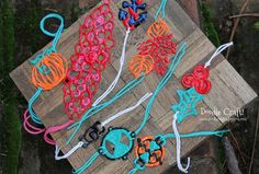 Make custom jewelry in minutes | 12 Insanely Cool Uses For Puffy Paint