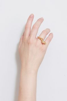 Antler ring - BEATRIZ PALACIOS jewelry