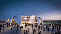 Santiago Calatrava's winning proposal for the 2020 Expo UAE Pavilion