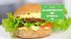 Deliciosa receita de Hambúrguer de Quinoa