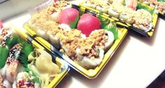 All natural and organic to-go sushi
