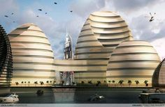 Organic Cities, UAE by Luca Curci Architects