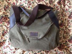 70ca6f6c17 2019 di TRASPORTO LIBERO grande tasca casuale delle donne borsa a tracolla  della borsa cross-body borse di tela in pelle di grande capacità per delle  donne