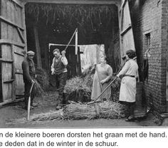 Graan dorsen Old Photography, Surrealism Photography, Agriculture, Farming, Old Photos, Vintage Photos, Indigenous Knowledge, Working People, Vintage Farm