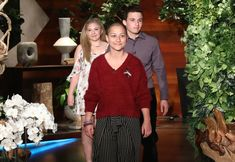 Parkland School Shooting Survivors Shut Down Conspiracy Theorists on Ellen | Emma Gonzalez, Cameron Kasky, and Jaclyn Corin spoke about their experiences during the shooting and their gun control activism after the tragedy.
