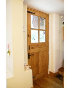 External 4 Panel Stable Solid Oak Door