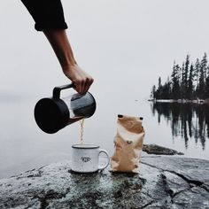 camping and coffee press <3