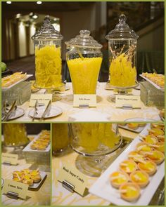 Networking break with lemony sweets!  Cincinnati Corporate Events | viva bella events