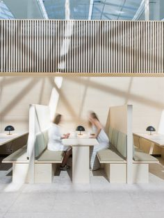 Lysakerbuen Office Public Areas & canteen by ZINC, Lysaker – Norway » Retail Design Blog
