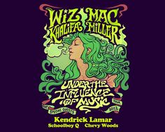 Under The Influence Tour! Mac and Wiz!