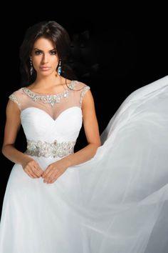 2014 New Prom Dresses Sweetheart Floor Length Princess Beaded St008