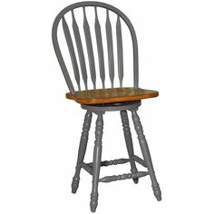 eci furniture blue bow back counter stool