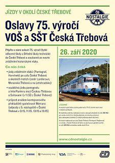 Novinky dopravy České republiky: Oslavy 75. výročí Česká Třebová Nostalgia