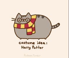 This should go on my Harry Potter Board (Milly Mermaid.... The Harry Potter Nerd!), but  its Pusheen soooo.....