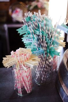 Paper straws | Love the flags
