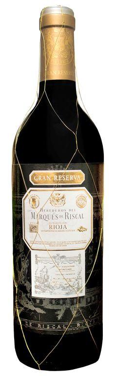 Marqués de Riscal. Gran reserva Nacional. One of the great wines of Spain.
