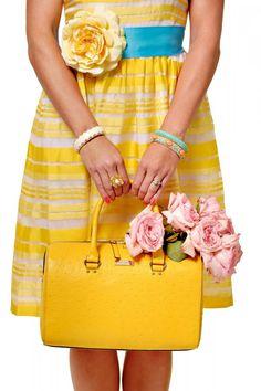 yellow! #yellow #dress