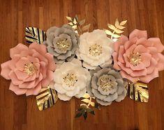 KraftyChicStudiollc on Etsy Paper Flower Decor, Flower Decorations, Paper Flowers, Etsy Seller, Nursery, Create, Unique, Floral Decorations, Floral Headdress