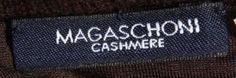 Magaschoni cashmere