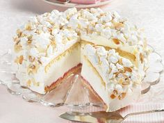 Unser beliebtes Rezept für Käse-Sahne-Torte mit Baiser und mehr als 55.000 weitere kostenlose Rezepte auf LECKER.de.