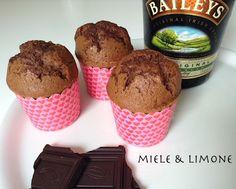 Muffin Baileys e cacao - ricetta facile e golosa