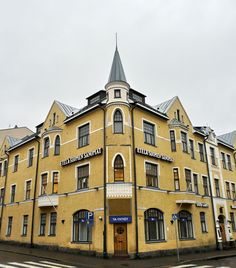 Finnish Art Nouveau - photo by Vitaly - Lahti, Southern Finland Art Nouveau, Iceland Island, Finnish Sauna, Invisible Cities, Nordic Living, Across The Universe, Old Buildings, Helsinki, Stockholm