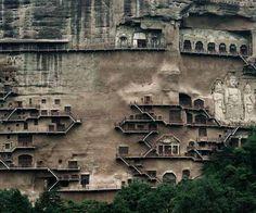 Maijishan Grotto, Gansu, China