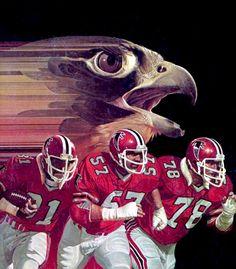 Atlanta Falcons 1981 | Atlanta Falcons 1981 | wbryant | Flickr Nfl Football Helmets, Falcons Football, Football Memorabilia, Football Gif, Football Uniforms, Football Memes, Sport Football, Sports Art, Sports Posters
