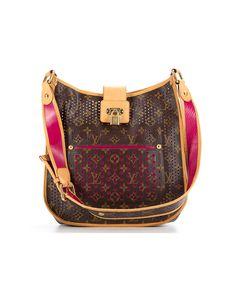 b2ca18e1d0f9 LOUIS VUITTON Pre-Owned Louis Vuitton Limited Edition Fuchsia Perforated  Monogram Musette Bag .  louisvuitton  bags  shoulder bags  hand bags   canvas ...