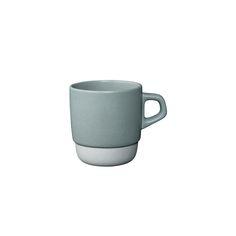 Kinto Grey Stacking Mugs