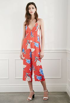 Floral Wide-Leg Cami Jumpsuit | Forever 21
