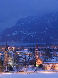 Interlaken, Berner Oberland, Switzerland
