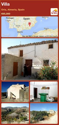 Villa in Oria, Almeria, Spain ►€65,000 #PropertyForSaleInSpain