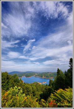 Plastiras Lake in Karditsa_ Greece