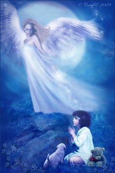 Guardian Angel by *cemac on deviantART    Tämä ei nöyristele, tässä on herkkyyttä ja voimaa, tämä ei nöyristele.