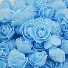 Artificial Craft PE Foam Rose Flowers Wedding Party Accessories DIY Home Decor Handmade Flower Head Wreath Supplies 8 Light Blue Aesthetic, Blue Aesthetic Pastel, Wedding Pattern, Flower Head Wreaths, Wreath Supplies, Dog Supplies, Foam Roses, Photo Wall Collage, Disney Songs