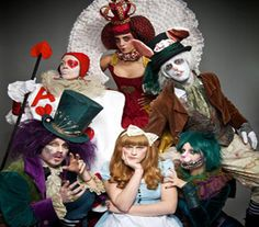 Magical Alice in Wonderland Themed Entertainment; London & UK Parties