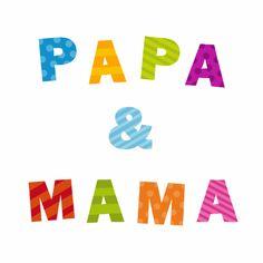 Papa & Mama - Felicitatiekaarten - Kaartje2go