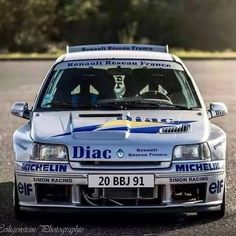 Alpine Renault, Renault Sport, Rally Drivers, Rally Car, Clio Maxi, Gti Car, Clio Williams, Clio Sport, Gt Turbo