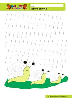 014 - fise de lucru cu semne grafice Preschool Worksheets, Preschool Activities, Experiment, Pre Writing, Writing Activities, Occupational Therapy, Kids And Parenting, Montessori, Homeschool